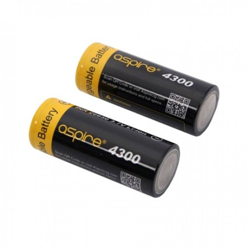 Aspire 26650 Battery 4300MAH