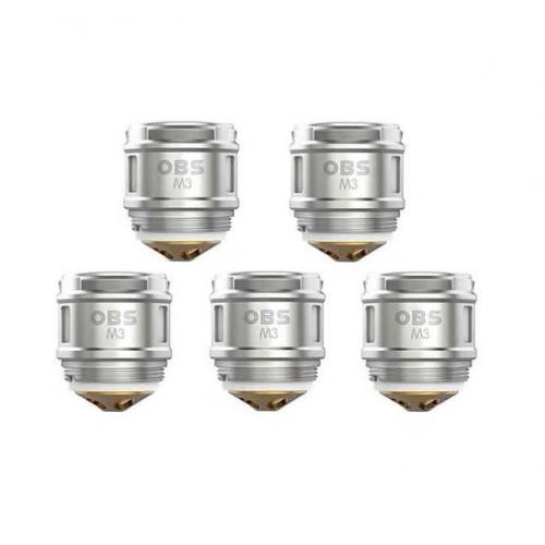 OBS Cube M3 Coils 0.15ohm - 5 Pack
