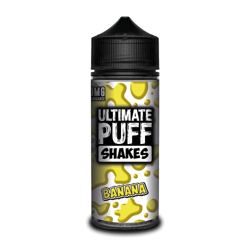 Ultimate Puff Shakes – Banana 100ML Shortfill