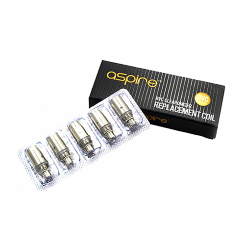 Aspire BVC Replacement Coils - 5 Pack